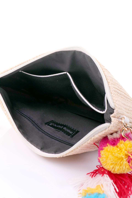 meliebiancoのTropezauRevoirClutchストロークラッチバッグ/海外ファッション好きにオススメのインポートバッグとかばん、MelieBianco(メリービアンコ)のバッグやクラッチバッグ。夏に大活躍しそうなストロークラッチバッグ。ビーガンレザーと同じ素材を編みこんでいるので天然素材の物よりもしっかりしています。/main-11