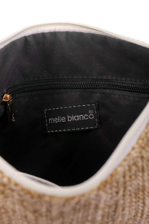 meliebiancoのSt.TropezBonjourClutch/海外ファッション好きにオススメのインポートバッグとかばん、MelieBianco(メリービアンコ)のバッグやクラッチバッグ。夏に大活躍しそうなストロークラッチバッグ。ビーガンレザーと同じ素材を編みこんでいるので天然素材の物よりもしっかりしています。/main-11