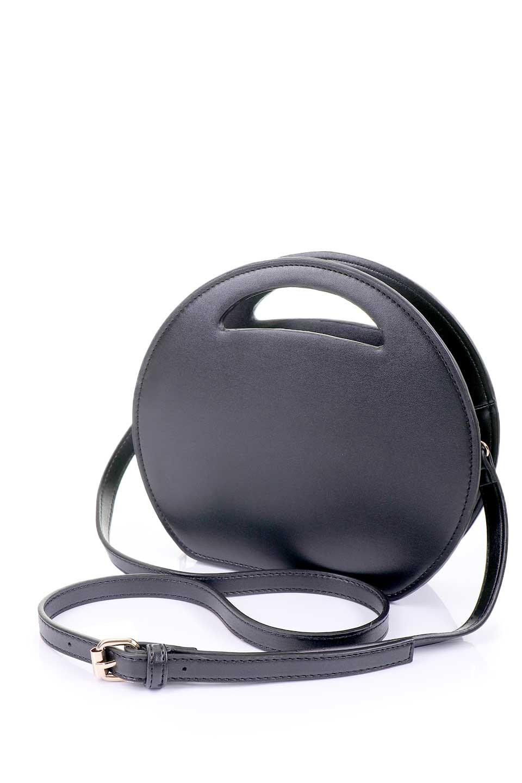 meliebiancoのCarelle(Black)/海外ファッション好きにオススメのインポートバッグとかばん、MelieBianco(メリービアンコ)のバッグやショルダーバッグ。小ぶりで可愛いショルダーバッグ。ラウンドタイプのショルダーバッグはファッションのジャンルを問わず安定した人気があります。/main-10