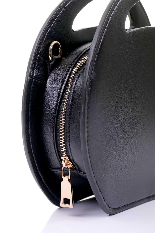 meliebiancoのCarelle(Black)/海外ファッション好きにオススメのインポートバッグとかばん、MelieBianco(メリービアンコ)のバッグやショルダーバッグ。小ぶりで可愛いショルダーバッグ。ラウンドタイプのショルダーバッグはファッションのジャンルを問わず安定した人気があります。/main-5
