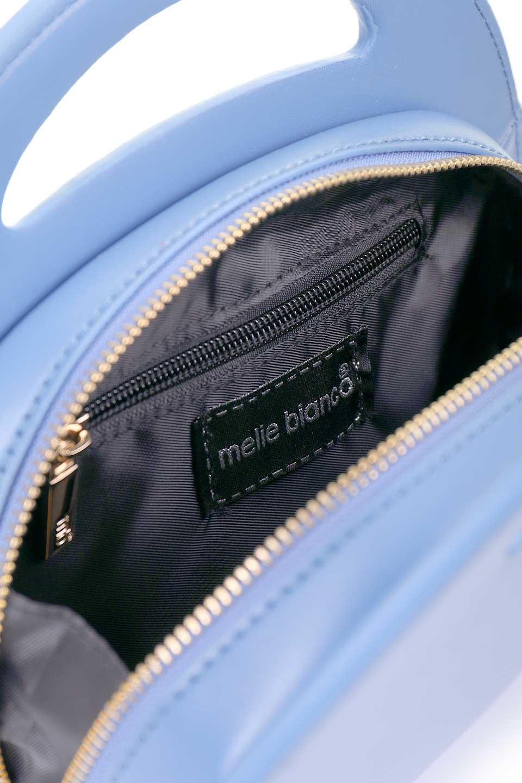 meliebiancoのCarelle(Blue)/海外ファッション好きにオススメのMelieBianco(メリービアンコ)のバッグやショルダーバッグ。小ぶりで可愛いショルダーバッグ。ラウンドタイプのショルダーバッグはファッションのジャンルを問わず安定した人気があります。/main-6