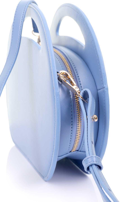 meliebiancoのCarelle(Blue)/海外ファッション好きにオススメのMelieBianco(メリービアンコ)のバッグやショルダーバッグ。小ぶりで可愛いショルダーバッグ。ラウンドタイプのショルダーバッグはファッションのジャンルを問わず安定した人気があります。/main-8