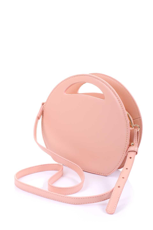 meliebiancoのCarelle(Blush)ラウンドショルダーバッグ/海外ファッション好きにオススメのインポートバッグとかばん、MelieBianco(メリービアンコ)のバッグやショルダーバッグ。小ぶりで可愛いショルダーバッグ。ラウンドタイプのショルダーバッグはファッションのジャンルを問わず安定した人気があります。/main-11