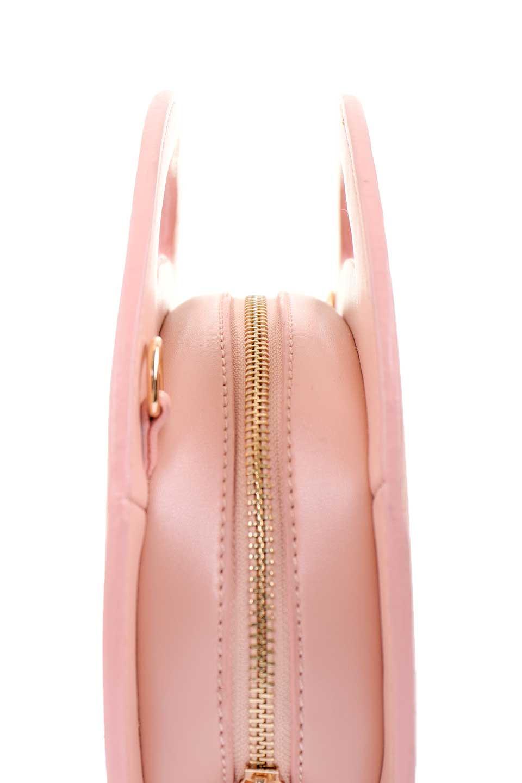 meliebiancoのCarelle(Blush)/海外ファッション好きにオススメのインポートバッグ、MelieBianco(メリービアンコ)のバッグやショルダーバッグ。小ぶりで可愛いショルダーバッグ。ラウンドタイプのショルダーバッグはファッションのジャンルを問わず安定した人気があります。/main-5