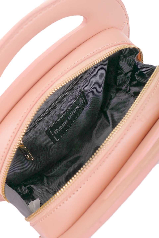 meliebiancoのCarelle(Blush)ラウンドショルダーバッグ/海外ファッション好きにオススメのインポートバッグとかばん、MelieBianco(メリービアンコ)のバッグやショルダーバッグ。小ぶりで可愛いショルダーバッグ。ラウンドタイプのショルダーバッグはファッションのジャンルを問わず安定した人気があります。/main-8