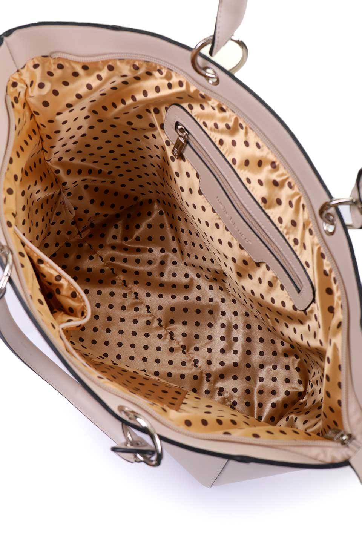 meliebiancoのCarter(Bone)/海外ファッション好きにオススメのインポートバッグとかばん、MelieBianco(メリービアンコ)のバッグやトートバッグ。小物入れが付いた程よいサイズ感のトートバッグ。正面についたポーチがバイカラーのアクセントになった可愛いデザインです。/main-13
