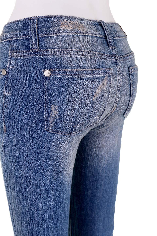 L.A.直輸入のDestroyedKneeSkinny(MidBlue)大人カジュアルに最適な海外ファッションのothers(その他インポートアイテム)のボトムやパンツ。クラッシュ加工がポイントのスキニーデニムパンツ。細身ですがかなりストレッチの効いたデニムです。/main-11
