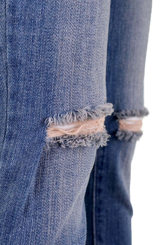 L.A.直輸入のDestroyedKneeSkinny(MidBlue)大人カジュアルに最適な海外ファッションのothers(その他インポートアイテム)のボトムやパンツ。クラッシュ加工がポイントのスキニーデニムパンツ。細身ですがかなりストレッチの効いたデニムです。/main-15