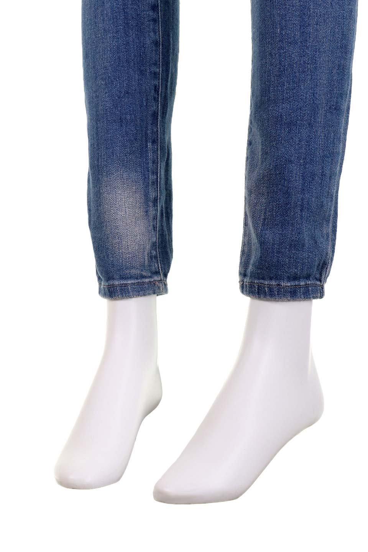L.A.直輸入のDestroyedKneeSkinny(MidBlue)大人カジュアルに最適な海外ファッションのothers(その他インポートアイテム)のボトムやパンツ。クラッシュ加工がポイントのスキニーデニムパンツ。細身ですがかなりストレッチの効いたデニムです。/main-17