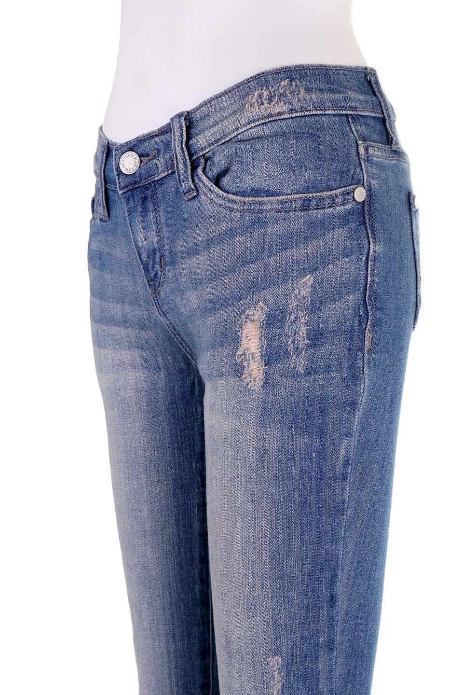 L.A.直輸入のDestroyedKneeSkinny(MidBlue)大人カジュアルに最適な海外ファッションのothers(その他インポートアイテム)のボトムやパンツ。クラッシュ加工がポイントのスキニーデニムパンツ。細身ですがかなりストレッチの効いたデニムです。/main-9