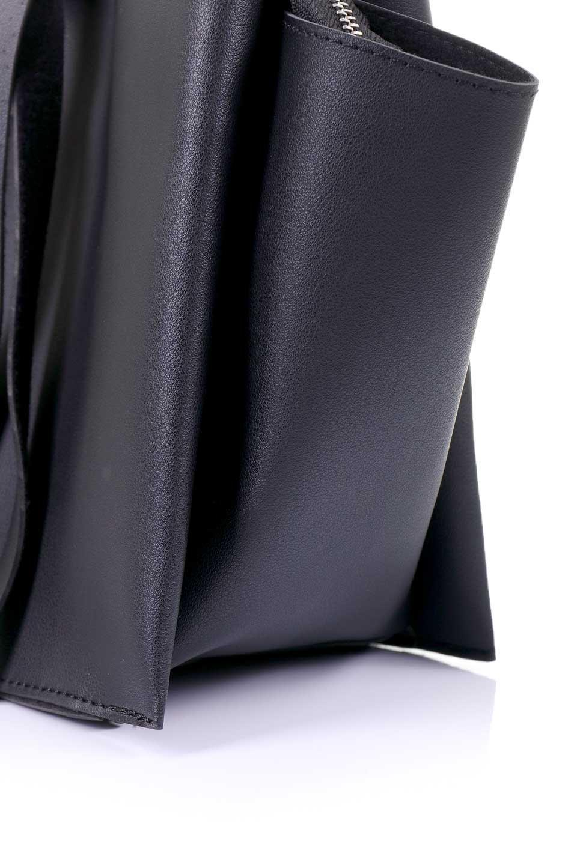meliebiancoのSuzette(Black)/海外ファッション好きにオススメのインポートバッグとかばん、MelieBianco(メリービアンコ)のバッグやハンドバッグ。コンパクトながら荷物の整理に適した便利なハンドバッグ。メインの荷室の他に大きなサイドポケットが付いています。/main-6
