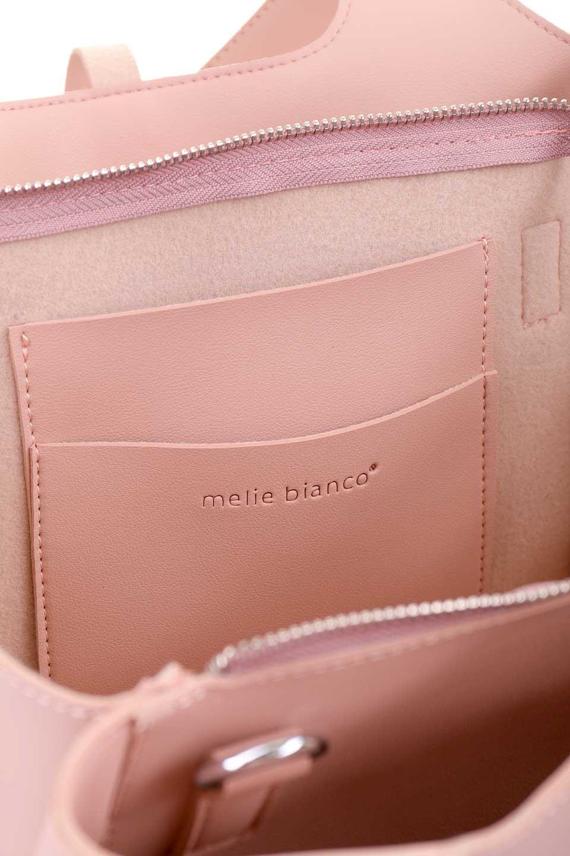 meliebiancoのSuzette(Blush)/海外ファッション好きにオススメのインポートバッグとかばん、MelieBianco(メリービアンコ)のバッグやハンドバッグ。コンパクトながら荷物の整理に適した便利なハンドバッグ。メインの荷室の他に大きなサイドポケットが付いています。/main-8