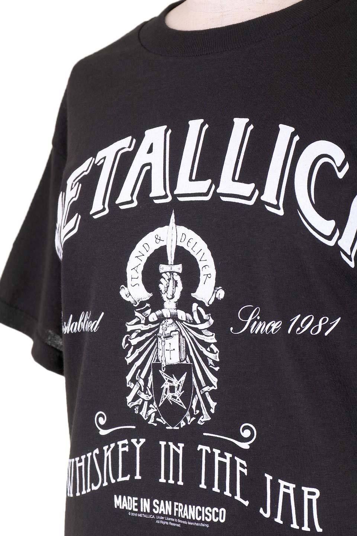 MetallicaWhiskeyLabel大人カジュアルに最適な海外ファッションのothers(その他インポートアイテム)のトップスやTシャツ。フェススタイルから普段着まで、デニムショーツやマキシスカート、組み合わせには困らないバンドT。女性に合わせやすいようにメンズサイズのSをセレクト。/main-6