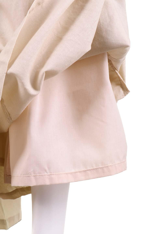 RibbonFlaredPants(Beige)大人カジュアルに最適な海外ファッションのothers(その他インポートアイテム)のボトムやパンツ。人気のデザインで絶好調のフレアワイドパンツ。麻混のウエストリボンで裏地付きです。/main-10
