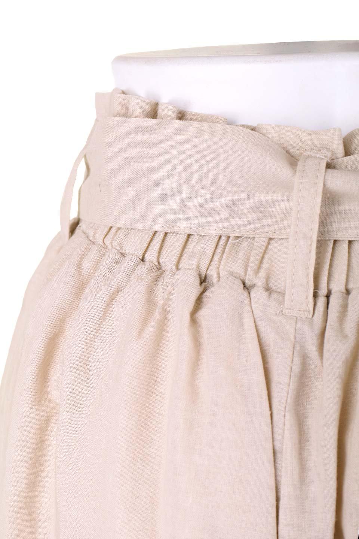 RibbonFlaredPants(Beige)大人カジュアルに最適な海外ファッションのothers(その他インポートアイテム)のボトムやパンツ。人気のデザインで絶好調のフレアワイドパンツ。麻混のウエストリボンで裏地付きです。/main-8