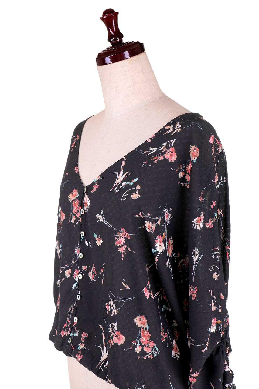 LOVESTITCHのChloeTop花柄ブラウス/海外ファッションが好きな大人カジュアルのためのLOVESTITCH(ラブステッチ)のトップスやシャツ・ブラウス。LOVESTITCHが得意とするブラウス系のトップス。様々なボトムに合わせやすく、お手軽にカリフォルニアの空気感を感じられるブラウスです。/main-10