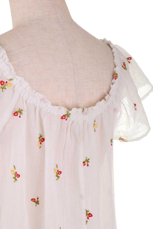 LOVESTITCHのOliviaTop/海外ファッションが好きな大人カジュアルのためのLOVESTITCH(ラブステッチ)のトップスやカットソー。白地に可憐な赤い小花柄が可愛らしいカットソー。首繰りはゴムなので、オフショルとしても楽しむ事ができます。/main-11