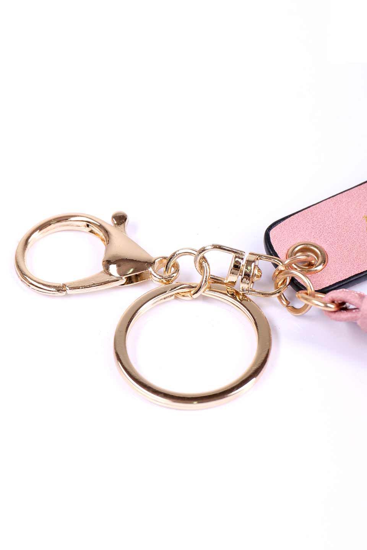 meliebiancoのQuoteKeychain/海外ファッション好きにオススメのインポートバッグとかばん、MelieBianco(メリービアンコ)のアクセサリーやその他。カラフルな美顔れざーを使用したたフリンジタッセルのキーホルダー。4段にレイヤードされたフリンジが可愛いデザインです。/main-4
