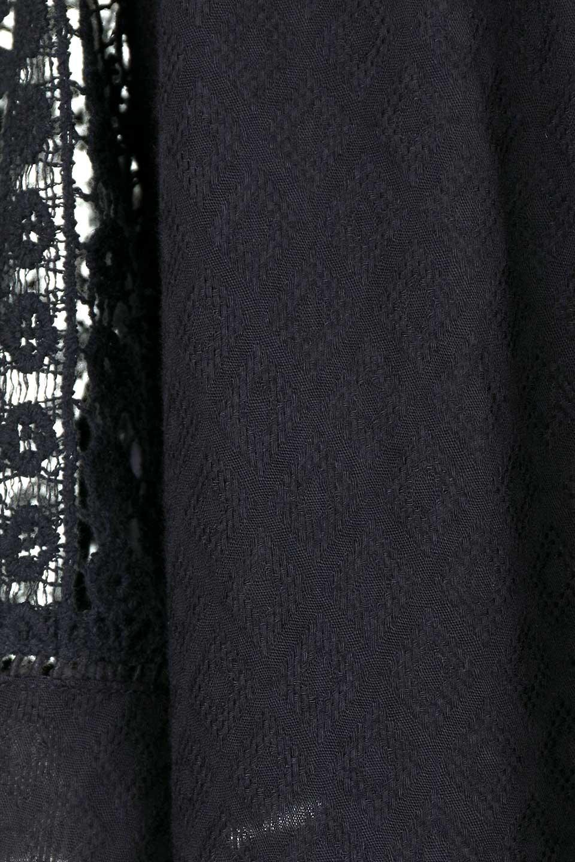 LOVESTITCHのLyndiTop(Black)オフショルダーブラウス/海外ファッションが好きな大人カジュアルのためのLOVESTITCH(ラブステッチ)のトップスやシャツ・ブラウス。立体感のあるジャカート織とクロシェレースを使用したオフショルトップス。ジャカートの部分はAvaBlouseと同じ高級感のある生地です。/main-13