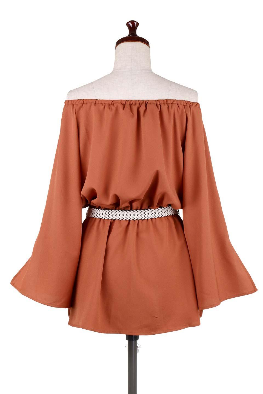 BellSleeveGeorgetteBlouseベルスリーブ・ジョーゼットブラウス大人カジュアルに最適な海外ファッションのothers(その他インポートアイテム)のトップスやシャツ・ブラウス。引き続き人気のオフショルダー。スリット入りのベルスリーブがヒラヒラと可愛いブラウスです。/main-24