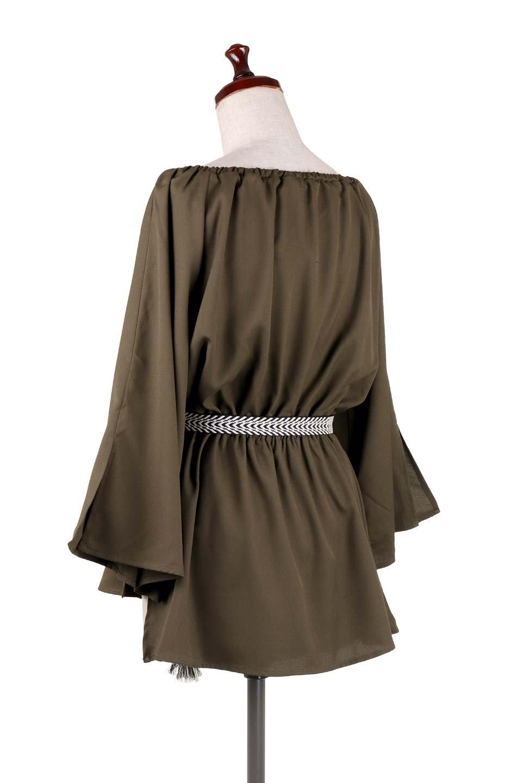 BellSleeveGeorgetteBlouseベルスリーブ・ジョーゼットブラウス大人カジュアルに最適な海外ファッションのothers(その他インポートアイテム)のトップスやシャツ・ブラウス。引き続き人気のオフショルダー。スリット入りのベルスリーブがヒラヒラと可愛いブラウスです。/main-28