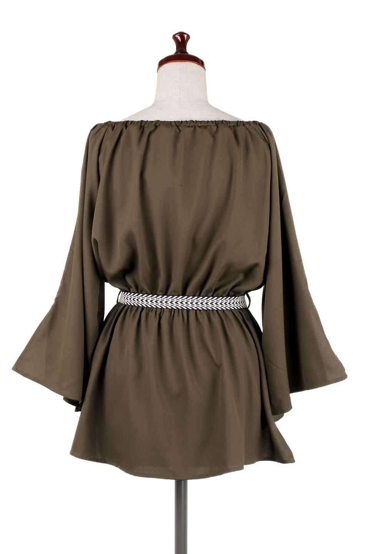 BellSleeveGeorgetteBlouseベルスリーブ・ジョーゼットブラウス大人カジュアルに最適な海外ファッションのothers(その他インポートアイテム)のトップスやシャツ・ブラウス。引き続き人気のオフショルダー。スリット入りのベルスリーブがヒラヒラと可愛いブラウスです。/main-29