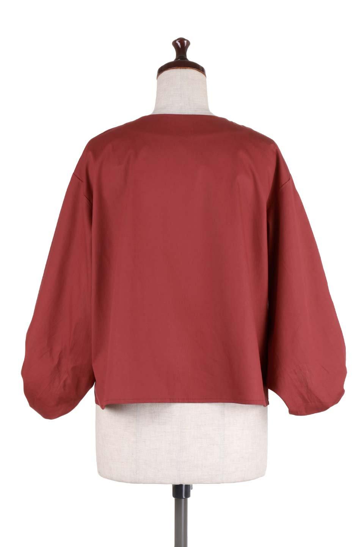 BalloonSleeveBlouseバルーンスリーブブラウス大人カジュアルに最適な海外ファッションのothers(その他インポートアイテム)のトップスやシャツ・ブラウス。たっぷりとしたバルーンスリーブが特報の7分袖ブラウス。50'sブロードを使用したナチュラルな素材感のアイテムです。/main-14