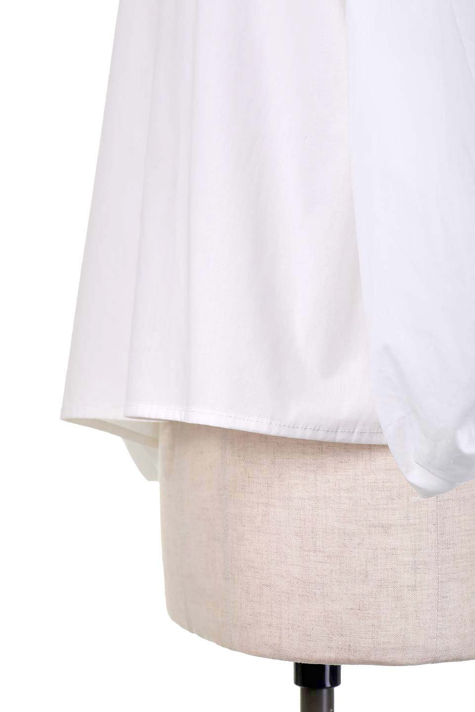 BalloonSleeveBlouseバルーンスリーブブラウス大人カジュアルに最適な海外ファッションのothers(その他インポートアイテム)のトップスやシャツ・ブラウス。たっぷりとしたバルーンスリーブが特報の7分袖ブラウス。50'sブロードを使用したナチュラルな素材感のアイテムです。/main-8