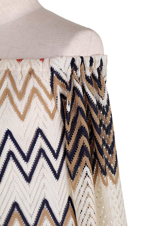 WaveWovenRetroDress大人カジュアルに最適な海外ファッションのothers(その他インポートアイテム)のワンピースやミニワンピース。レトロ感タップリのミニワンピ。なんといってもこのカラーリングがたまりません。/main-7