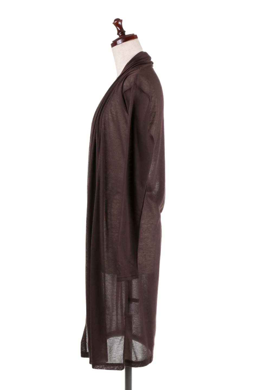 GauzeKnitLongDrapedCardiganガーゼ・ロングカーディガン大人カジュアルに最適な海外ファッションのothers(その他インポートアイテム)のアウターやカーディガン。季節の変わり目にピッタリなガーゼ素材のカーディガン。人気のオープンフロント&ドレープ仕様。/main-17