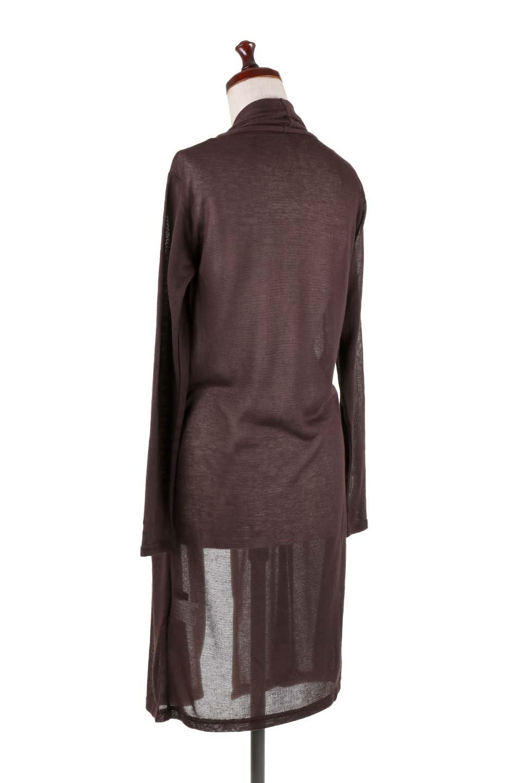 GauzeKnitLongDrapedCardiganガーゼ・ロングカーディガン大人カジュアルに最適な海外ファッションのothers(その他インポートアイテム)のアウターやカーディガン。季節の変わり目にピッタリなガーゼ素材のカーディガン。人気のオープンフロント&ドレープ仕様。/main-18