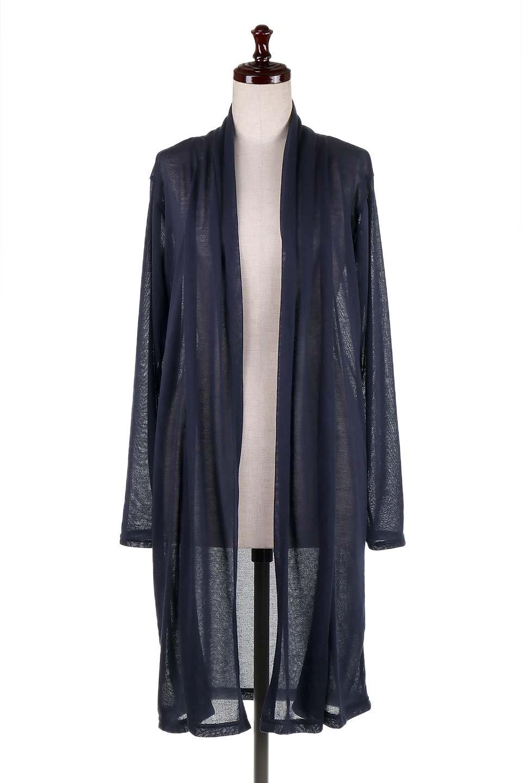 GauzeKnitLongDrapedCardiganガーゼ・ロングカーディガン大人カジュアルに最適な海外ファッションのothers(その他インポートアイテム)のアウターやカーディガン。季節の変わり目にピッタリなガーゼ素材のカーディガン。人気のオープンフロント&ドレープ仕様。/main-20