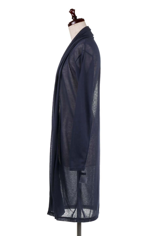 GauzeKnitLongDrapedCardiganガーゼ・ロングカーディガン大人カジュアルに最適な海外ファッションのothers(その他インポートアイテム)のアウターやカーディガン。季節の変わり目にピッタリなガーゼ素材のカーディガン。人気のオープンフロント&ドレープ仕様。/main-22