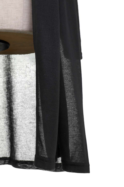 GauzeKnitLongDrapedCardiganガーゼ・ロングカーディガン大人カジュアルに最適な海外ファッションのothers(その他インポートアイテム)のアウターやカーディガン。季節の変わり目にピッタリなガーゼ素材のカーディガン。人気のオープンフロント&ドレープ仕様。/main-7