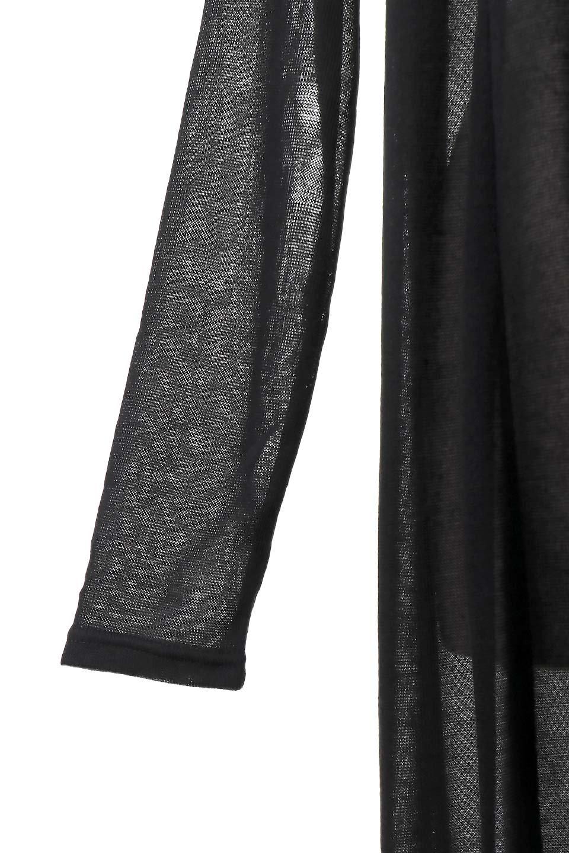 GauzeKnitLongDrapedCardiganガーゼ・ロングカーディガン大人カジュアルに最適な海外ファッションのothers(その他インポートアイテム)のアウターやカーディガン。季節の変わり目にピッタリなガーゼ素材のカーディガン。人気のオープンフロント&ドレープ仕様。/main-8