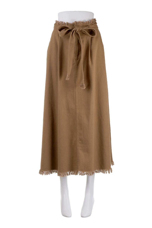 ShortFringeTuckSkirtミニフリンジ・ツイルスカート大人カジュアルに最適な海外ファッションのothers(その他インポートアイテム)のボトムやスカート。コットンツイルのベルト付きフリンジスカート。ウエストのゴム仕様が嬉しいカジュアルなスカートです。/main-10
