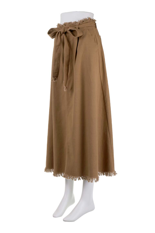 ShortFringeTuckSkirtミニフリンジ・ツイルスカート大人カジュアルに最適な海外ファッションのothers(その他インポートアイテム)のボトムやスカート。コットンツイルのベルト付きフリンジスカート。ウエストのゴム仕様が嬉しいカジュアルなスカートです。/main-11