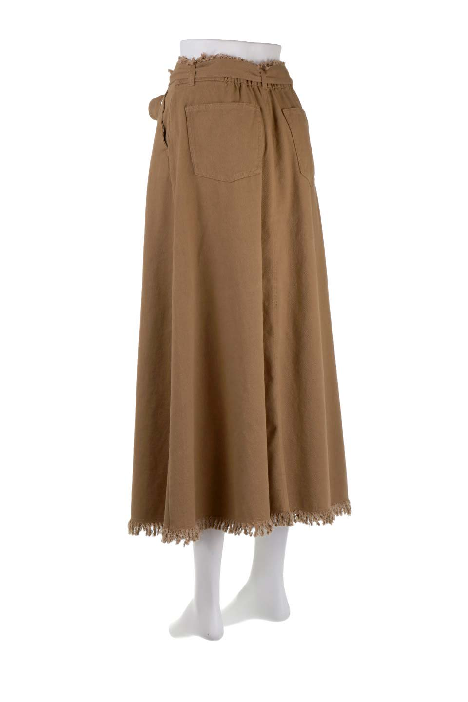 ShortFringeTuckSkirtミニフリンジ・ツイルスカート大人カジュアルに最適な海外ファッションのothers(その他インポートアイテム)のボトムやスカート。コットンツイルのベルト付きフリンジスカート。ウエストのゴム仕様が嬉しいカジュアルなスカートです。/main-13