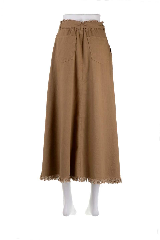 ShortFringeTuckSkirtミニフリンジ・ツイルスカート大人カジュアルに最適な海外ファッションのothers(その他インポートアイテム)のボトムやスカート。コットンツイルのベルト付きフリンジスカート。ウエストのゴム仕様が嬉しいカジュアルなスカートです。/main-14