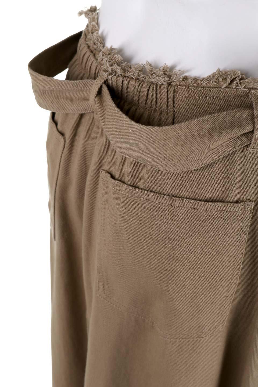 ShortFringeTuckSkirtミニフリンジ・ツイルスカート大人カジュアルに最適な海外ファッションのothers(その他インポートアイテム)のボトムやスカート。コットンツイルのベルト付きフリンジスカート。ウエストのゴム仕様が嬉しいカジュアルなスカートです。/main-8