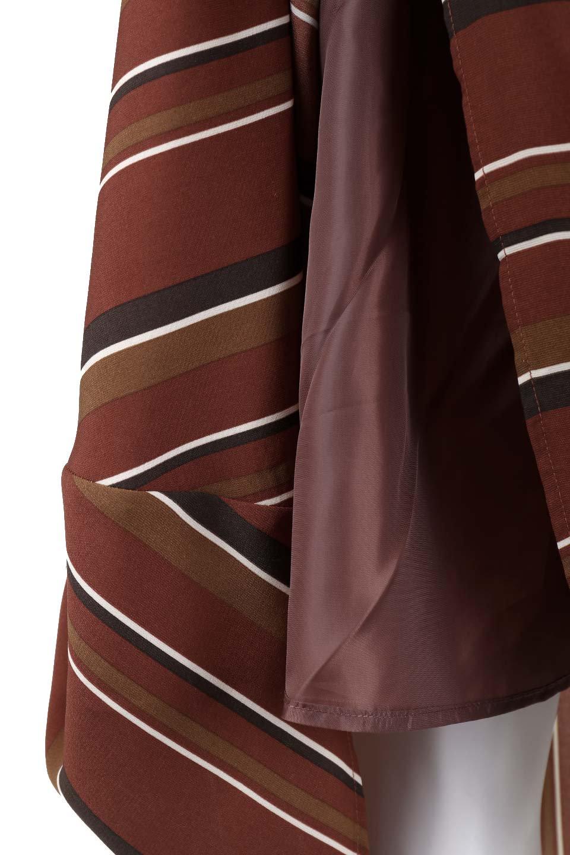 Multi-StripeFlaredSkirtマルチストライプ・スカート大人カジュアルに最適な海外ファッションのothers(その他インポートアイテム)のボトムやスカート。レトロな雰囲気のテールカットスカート。もはや定番人気のマルチストライプのアイテム。/main-8