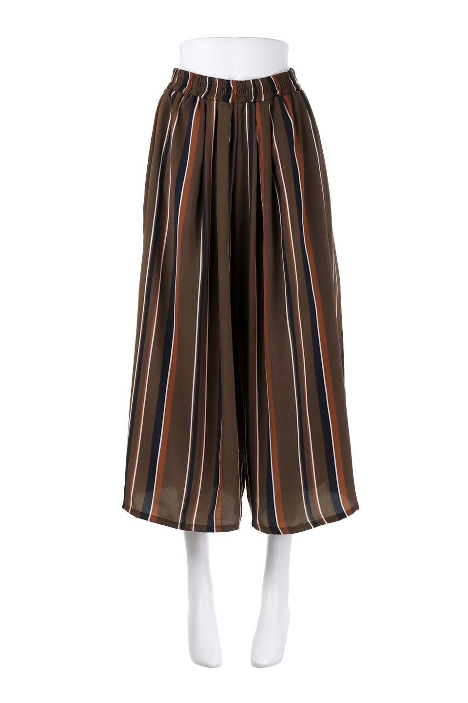 Multi-StripeWidePantsマルチストライプ・レトロパンツ大人カジュアルに最適な海外ファッションのothers(その他インポートアイテム)のボトムやパンツ。レトロな雰囲気のガウチョパンツ。もはや定番人気のマルチストライプのアイテム。/main-10