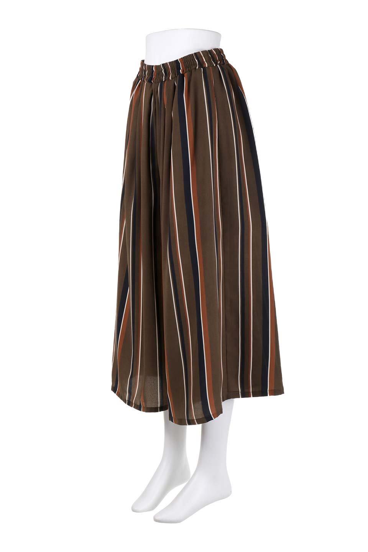 Multi-StripeWidePantsマルチストライプ・レトロパンツ大人カジュアルに最適な海外ファッションのothers(その他インポートアイテム)のボトムやパンツ。レトロな雰囲気のガウチョパンツ。もはや定番人気のマルチストライプのアイテム。/main-11