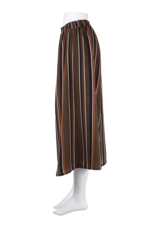 Multi-StripeWidePantsマルチストライプ・レトロパンツ大人カジュアルに最適な海外ファッションのothers(その他インポートアイテム)のボトムやパンツ。レトロな雰囲気のガウチョパンツ。もはや定番人気のマルチストライプのアイテム。/main-12