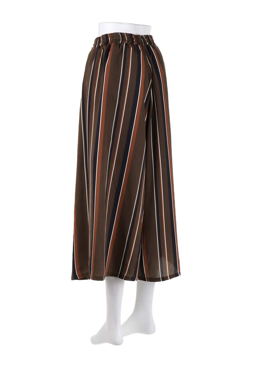 Multi-StripeWidePantsマルチストライプ・レトロパンツ大人カジュアルに最適な海外ファッションのothers(その他インポートアイテム)のボトムやパンツ。レトロな雰囲気のガウチョパンツ。もはや定番人気のマルチストライプのアイテム。/main-13