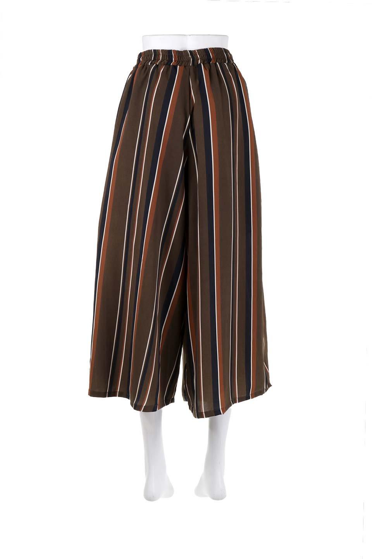 Multi-StripeWidePantsマルチストライプ・レトロパンツ大人カジュアルに最適な海外ファッションのothers(その他インポートアイテム)のボトムやパンツ。レトロな雰囲気のガウチョパンツ。もはや定番人気のマルチストライプのアイテム。/main-14