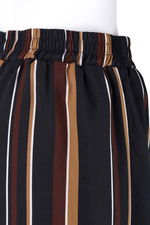 Multi-StripeWidePantsマルチストライプ・レトロパンツ大人カジュアルに最適な海外ファッションのothers(その他インポートアイテム)のボトムやパンツ。レトロな雰囲気のガウチョパンツ。もはや定番人気のマルチストライプのアイテム。/main-6