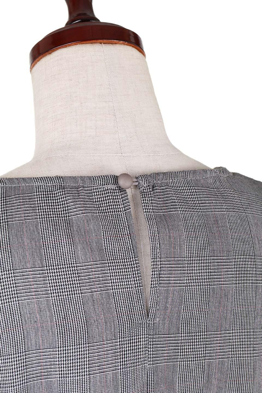 RuffleSleeveBlouseグレンチェックブラウス大人カジュアルに最適な海外ファッションのothers(その他インポートアイテム)のトップスやシャツ・ブラウス。今季注目のグレンチェックのアイテム。ヒラヒラのラッフルスリーブが可愛らしいブラウスです。/main-5