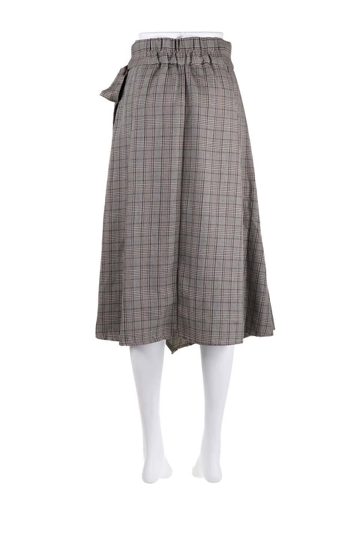 GlenCheckWrapSkirtグレンチェック・ラップスカート大人カジュアルに最適な海外ファッションのothers(その他インポートアイテム)のボトムやスカート。今季人気のグレンチェックのアイテム。ヒラヒラドレープが魅力の巻きスカートです。/main-14