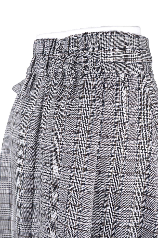 GlenCheckWrapSkirtグレンチェック・ラップスカート大人カジュアルに最適な海外ファッションのothers(その他インポートアイテム)のボトムやスカート。今季人気のグレンチェックのアイテム。ヒラヒラドレープが魅力の巻きスカートです。/main-5